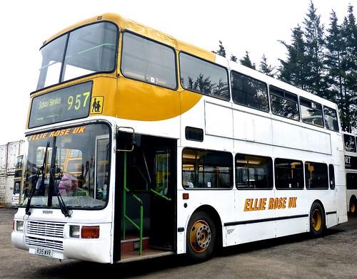 R315 WVR 'Ellie Rose Travel Ltd.', 'Ellie Rose UK'. Volvo Olympian / Northern Counties Palatlne 2 on Dennis Basford's railsroadsrunways.blogspot.co.uk'