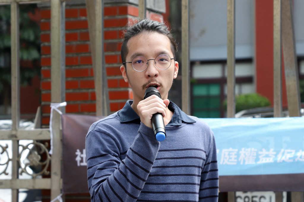台灣同志家庭權益促進會副理事長蔡尚文
