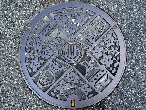 Toki Gifu, manhole cover (岐阜県土岐市のマンホール)