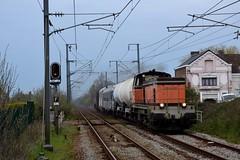 BB64621 et BB64609 + Rame de désherbage à Pont d'Ardres - Photo of Ardres