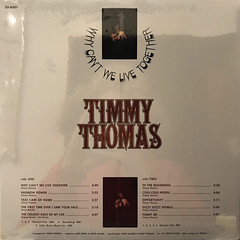 TIMMY THOMAS:WHY CAN'T WE LIVE TOGETHER(JACKET B)
