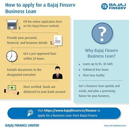 Apply for Bajaj Finserv Business Loan Here