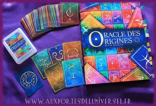 Aux Portes de l'Universel présente très bientôt le jeu et le livre Oracle des origines