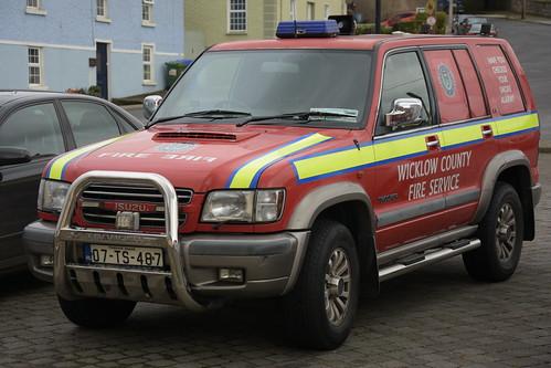 Wicklow County Fire Service 2007 Isuzu Trooper WWFRS L4V 07TS487