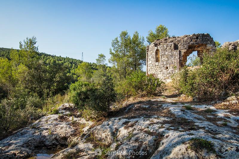 Ruinas de la capilla de Sant Llorenç de la Senabre