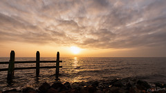 Sunset at the Pier of Urk