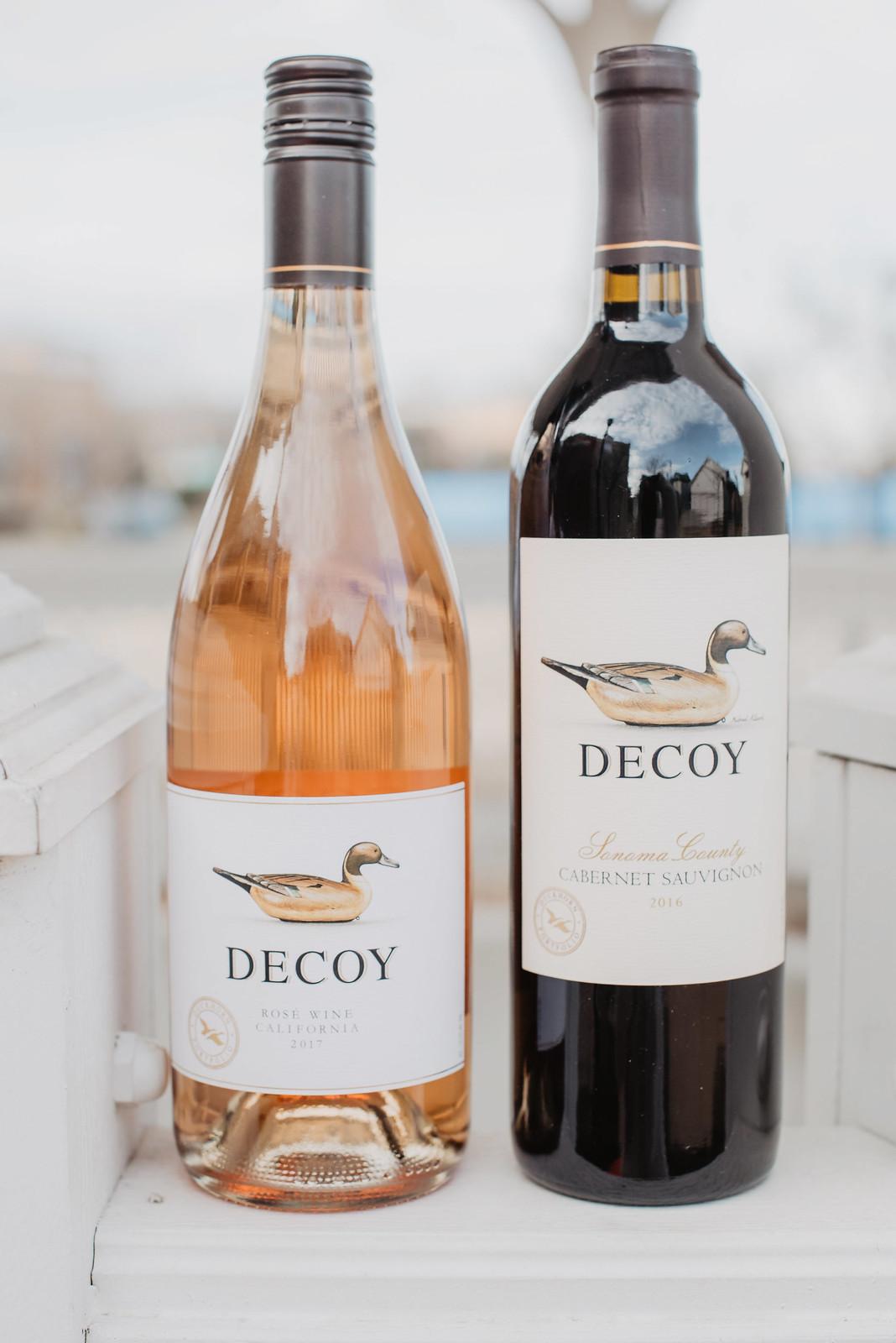 decoy rose wine