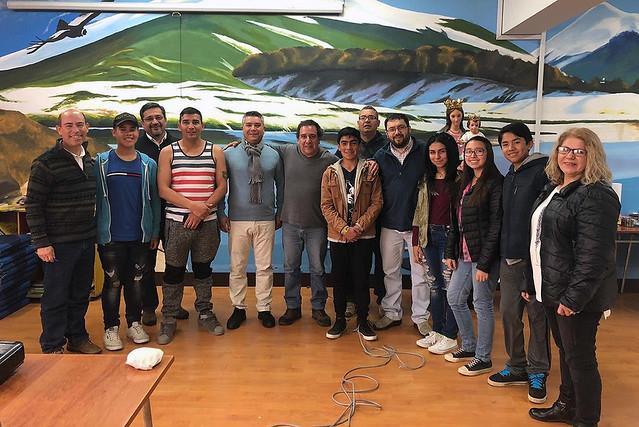 Visita Fundación Don Bosco al LSMF