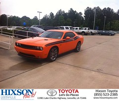 #HappyBirthday to Lester from Justin Brown at Hixson Toyota of Leesville!
