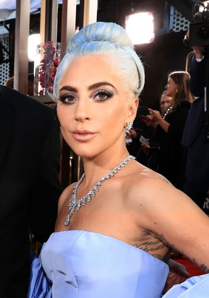 Lady Gaga wearing Tiffany