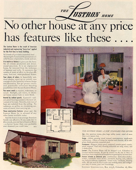 The Lustron Home 1948