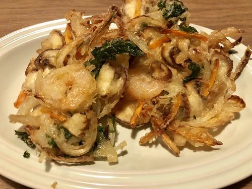 Kamiage tempura