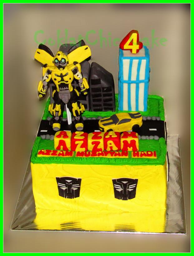 Cake Transformers AZZAM 2o cm