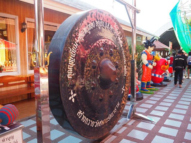 P1020509 Wat Saman Rattanaram(ワット・サマーン・ラッタナーラーム) ピンクガネーシャ バンコク Bangkok ひめごと