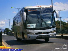 Millantour (N°605): Marcopolo Andare Class 850 - Mercedes Benz OF-1722 (BFGY41).