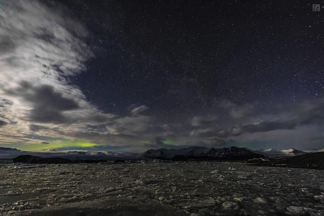 Glacier Lagoon Night 1