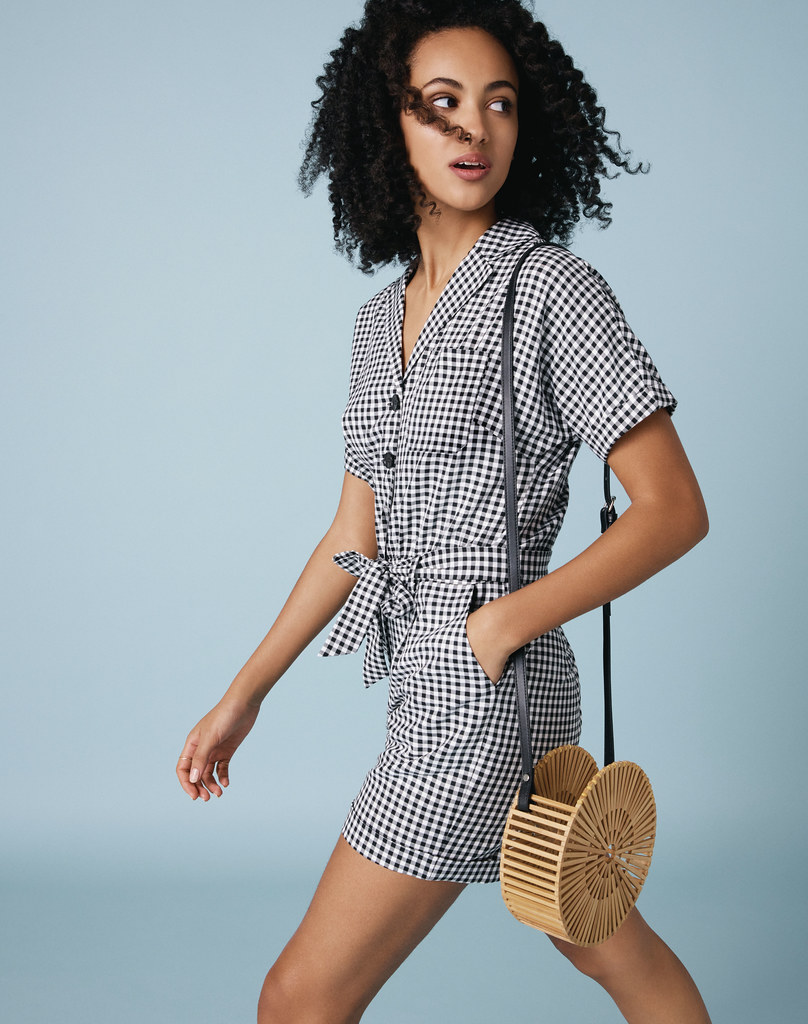 Gingham Playsuit, Oasis Finland