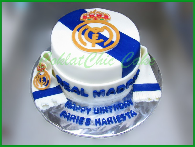 Cake Real Madrid FARIES 15 cm