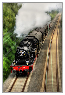Bochum - Preußische T 18 78 468 Teuto-Express 07