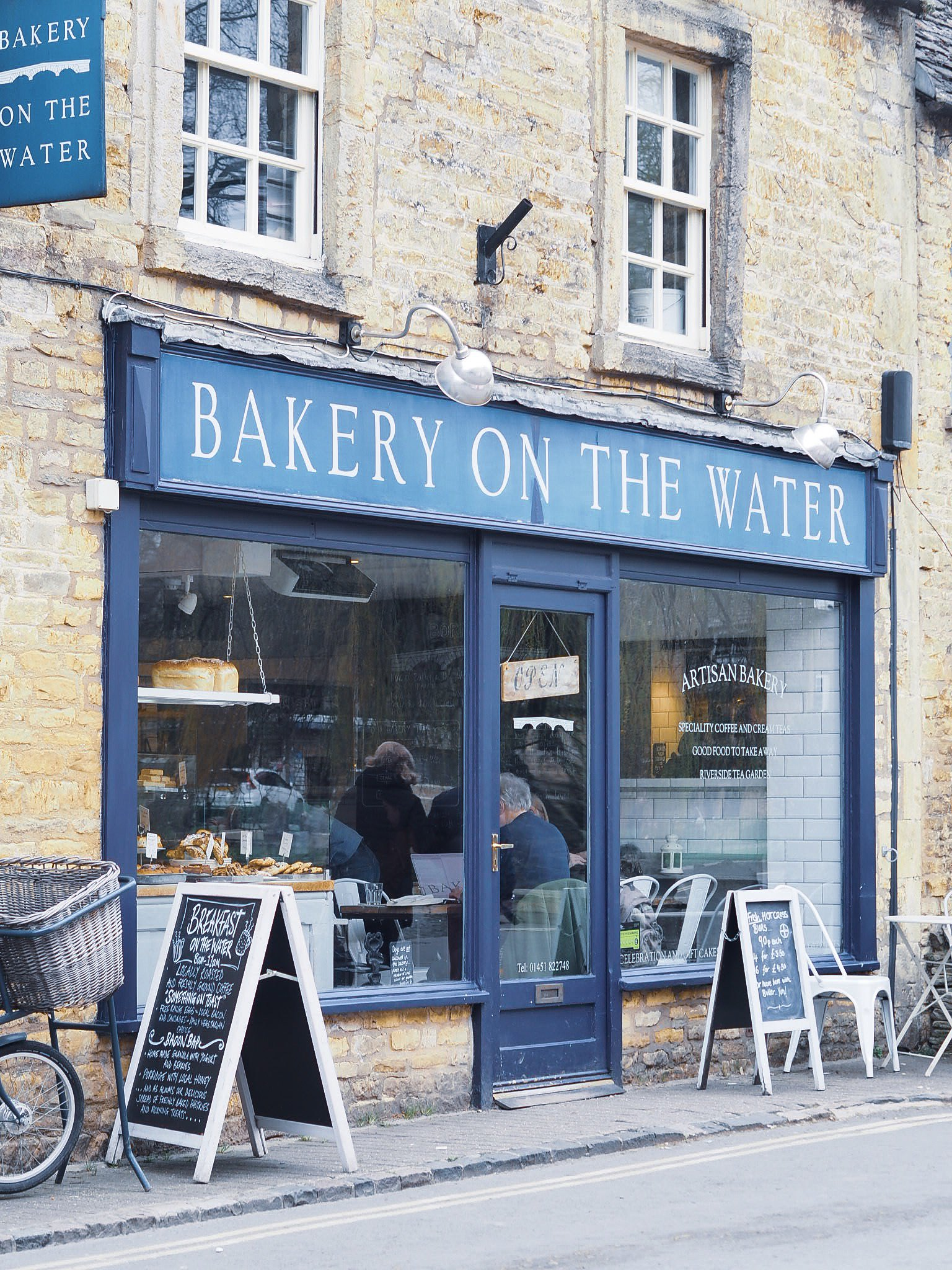 bakery on the water cotswolds