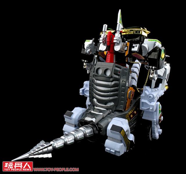 大獸神真正的姿態終於復甦啦!超合金魂 GX-85《恐龍戰隊獸連者》獸騎神帝王腕龍(獣騎神キングブラキオン) 開箱報告