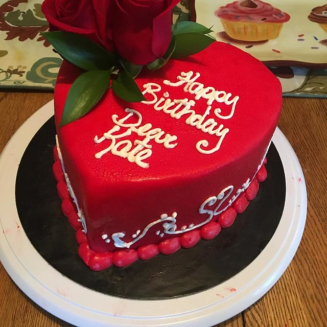 Heart Cake by Gramma Dot's Bake Shoppe
