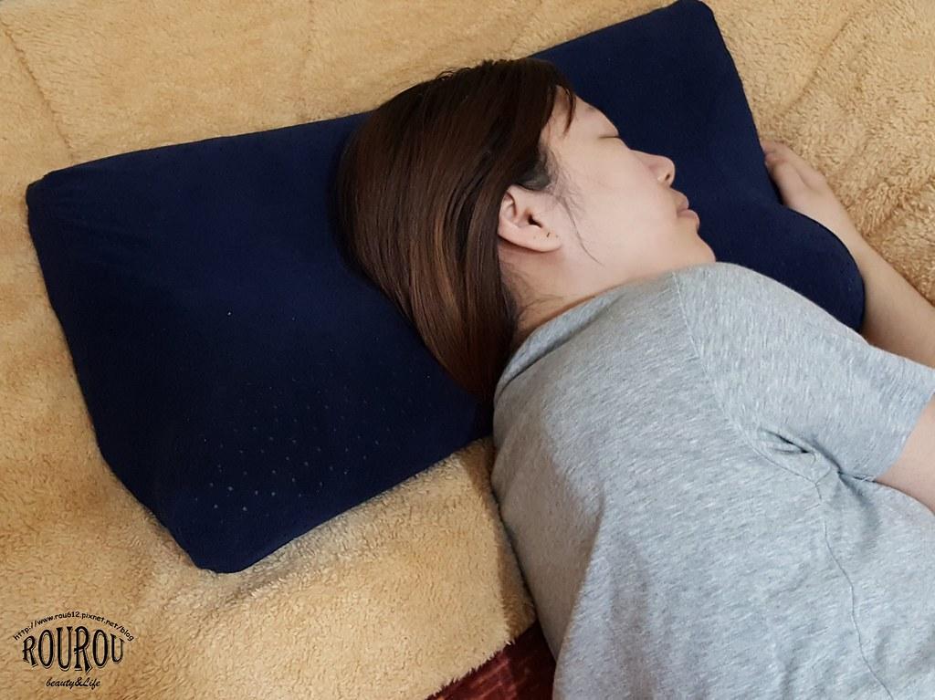 4D防鼾蝶型記憶枕9