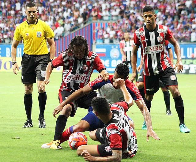 Bahia 3 X 0 Atlético de Alagoinhas. Foto: Gabriela Simões