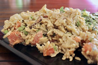 Creamy Orzo with Bacon and Peas