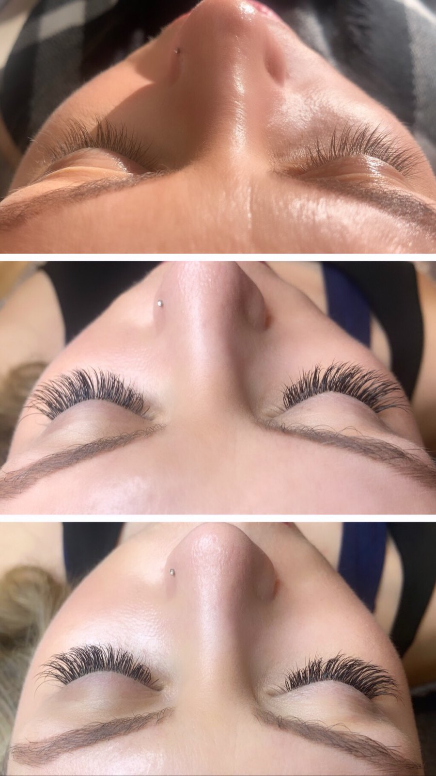 Before After Eyelash Extensions Deka Lash Hartsdale NY