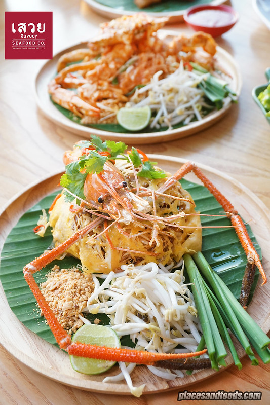 savoey pattaya prawn pad thai