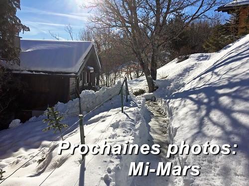 Prochaines images: mi-Mars