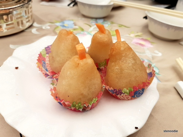 Deep Fried Sticky Pork Dumpling