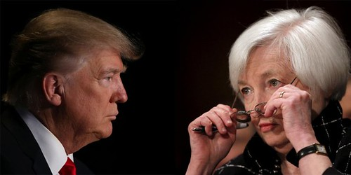 Yellen vs Trump