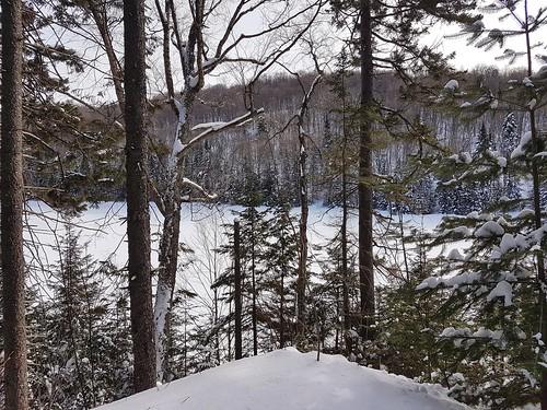 laurentians quebec canada winter february 2019 snow ice crosscountryskiing ski skiing skidefond