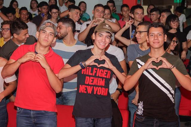 Bienvenida estudiantes 2019A sede Neiva