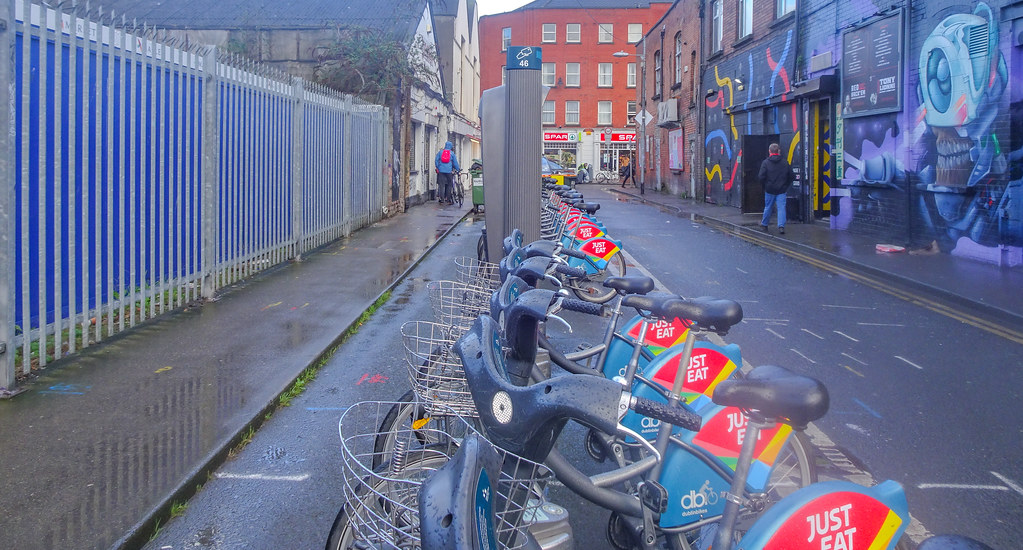 DUBLINBIKES DOCKING STATION 46 ON GREAT STRAND STREET 002