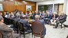 Reunião com centrais sindicais