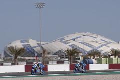 Alonso López - Ryusei Yamanaka. Qatar GP 2019