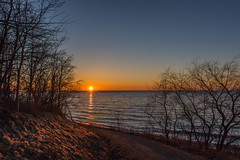 Sunset at Lake Erie Bluffs
