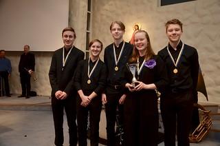 Medaljörerna i grupp 3