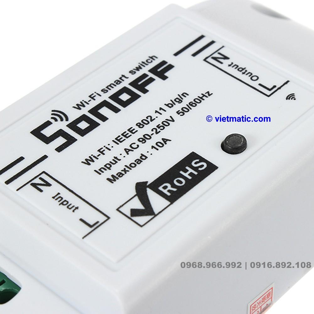 Công tắc Wifi thông minh Sonoff, bản basic, 1 kênh