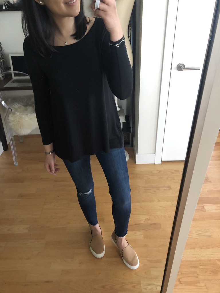 Old Navy Luxe Swing Tee, size XS petite