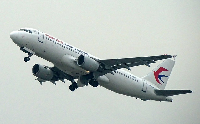 China Eastern Airbus A320 B-6891