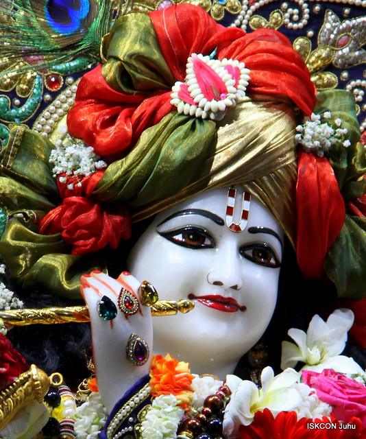 ISKCON Juhu Sringar Deity Darshan 9 Feb 2019