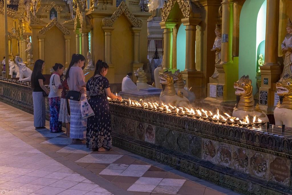 Nightlife - Shwedagon