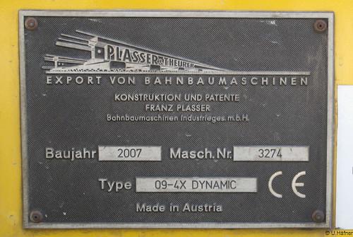 BBW 99 81 9123 010-6 Vierschwellenstopfmaschine 09-4X Dynamic _i