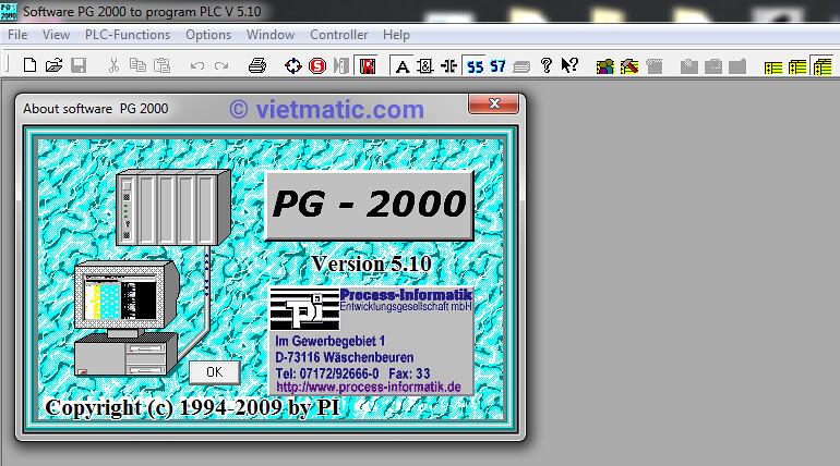 Phần mềm PLC PG - 2000