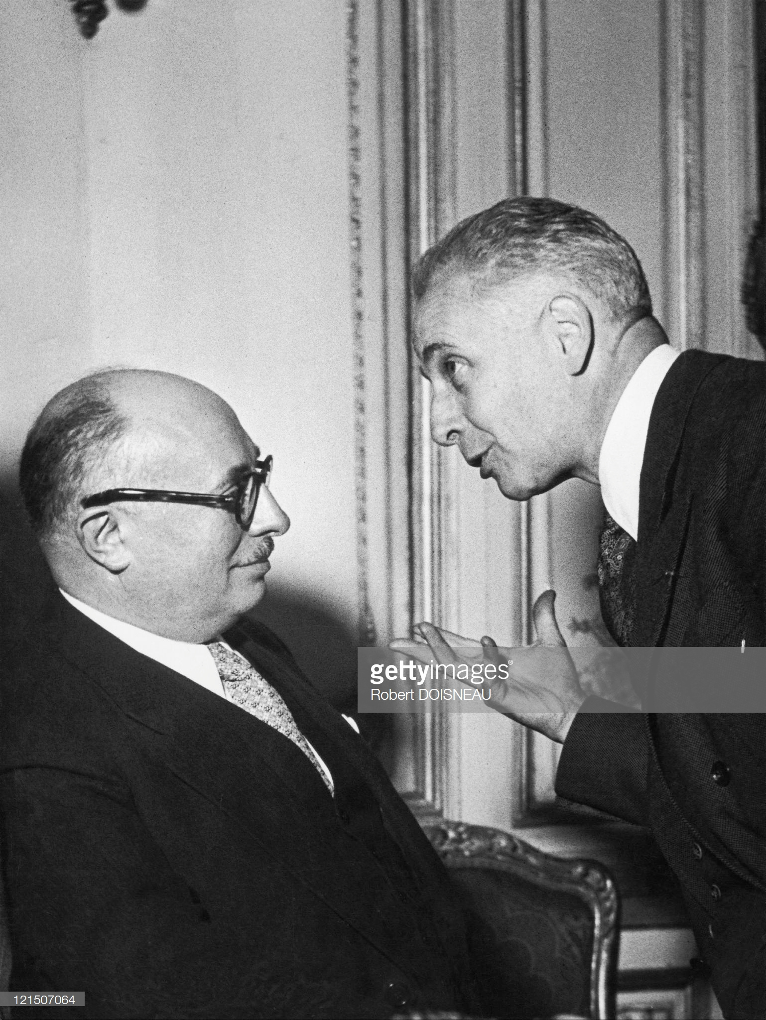 1947. Жак Дюкло и Луи Арагон