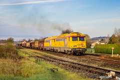 02 avril 2019 BB 67622-67567 Train 815792 Coutras -> Limoges Agonac (24) - Photo of Ligueux